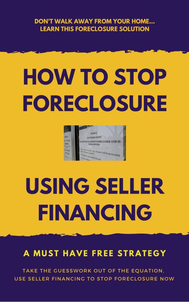 How To Stop Foreclosure Using Seller Financing - Cash Paid 4